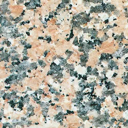 Colores granito nacional Rosa Porriño