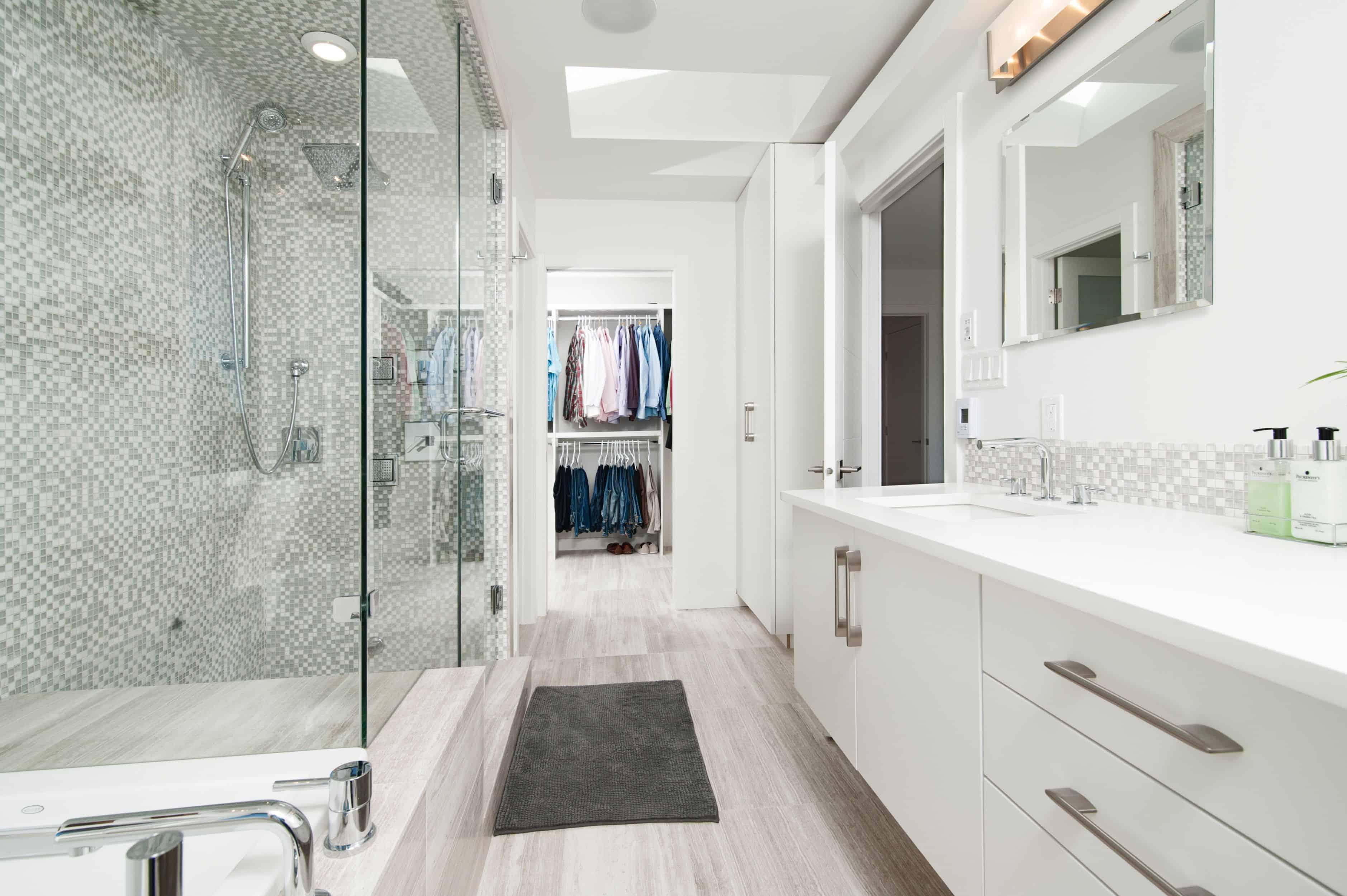 Marmol blanco para baño